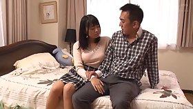 Censorable Japanese porn with an dear  spliced having nice sex
