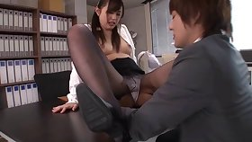 Smoothe fucking on the dazzle upon Japanese pornstar Nana Tomono