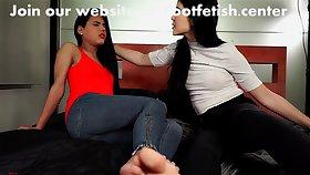 Asian Perfect Soles Foot Worship Lesbian
